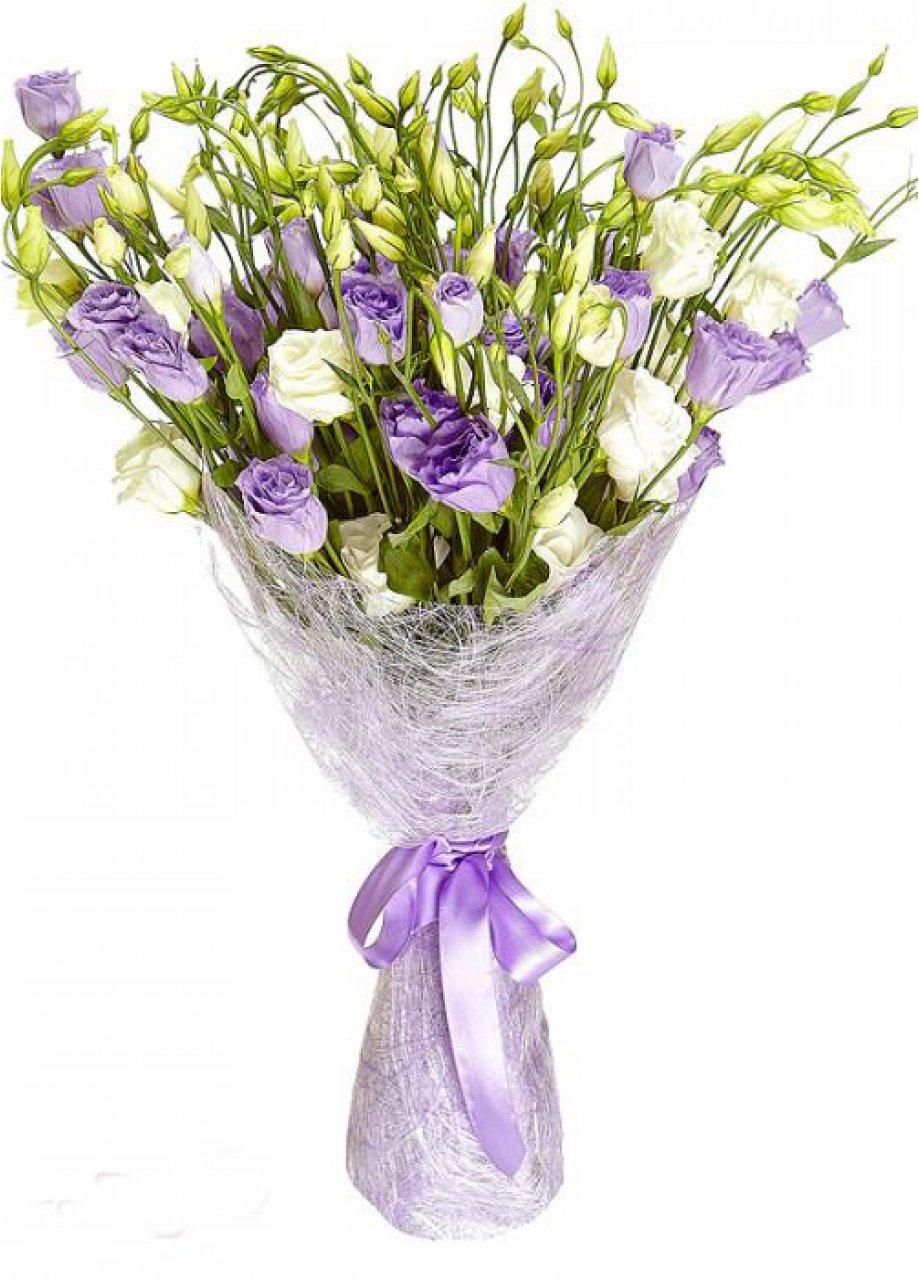 Букеты эустомы одесса, доставка цветов ангел